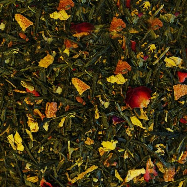 Grüner Tee Wintergeschichten