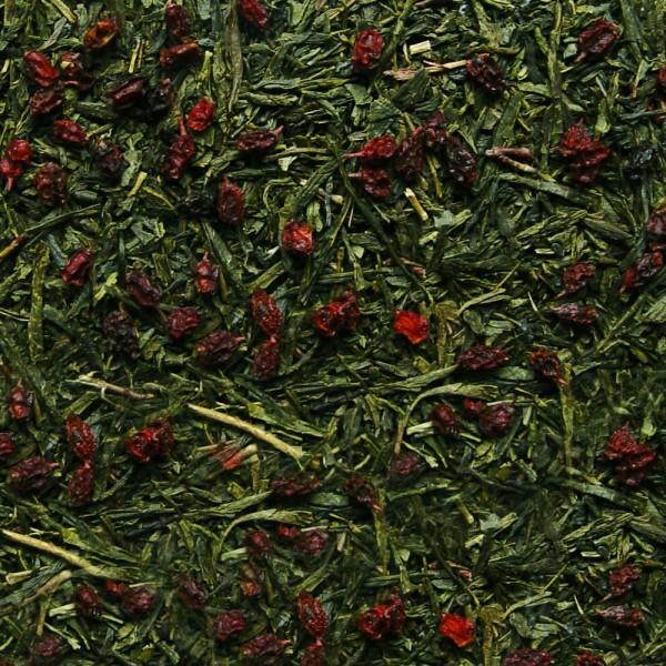 Grüner Tee Sanddorn