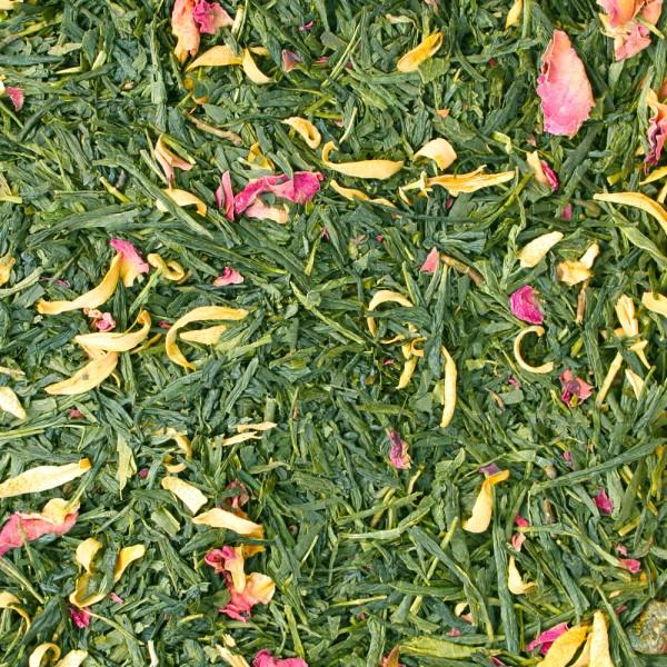 Grüner Tee Pfirsich-Sahne