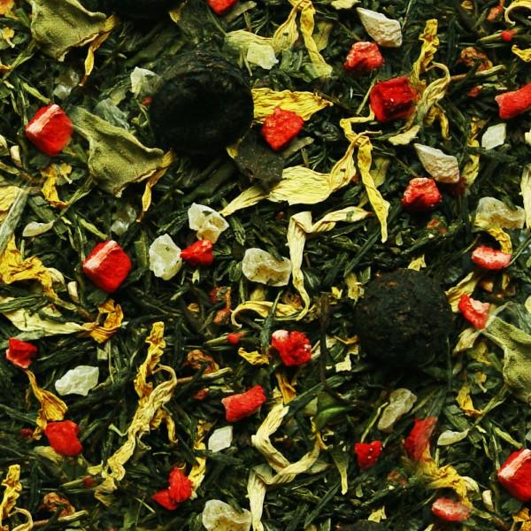 Grüner Tee China`s 8 Kostbarkeiten