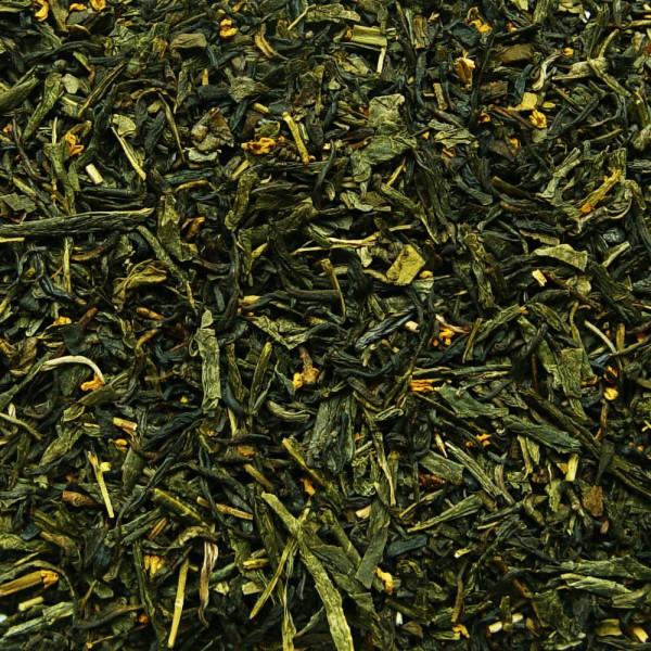 Grün-schwarzer Tee Mondpalast